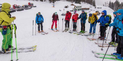 Skitourenkurs der Naturfreunde